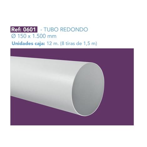 TUBO REDONDO Ø 150 X 1.500 MM