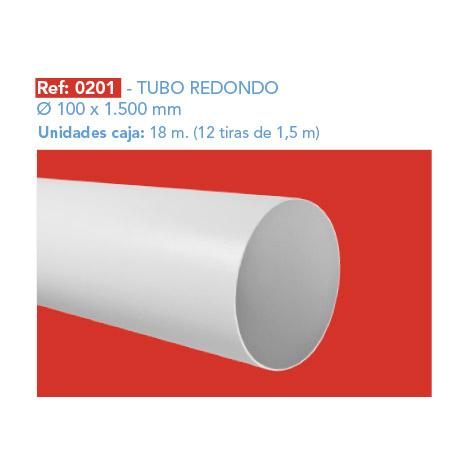 TUBO REDONDO Ø 100 X 1.500 MM